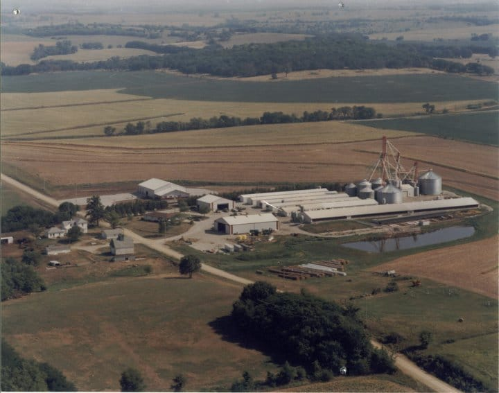 Haverkamp Bros, Inc. Home Farm Arial Image